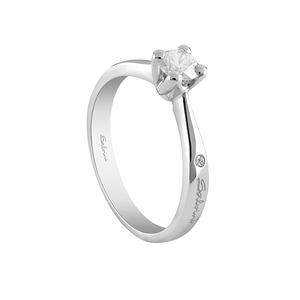 SALVINI VIRGINIA anello solitario con diamante 0,305 colore G purezza VS 20071805