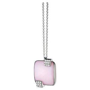 SALVINI PARK AVENUE Collana con diamanti e onice rosa 20025164