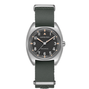 HAMILTON KHAKI AVIATION PILOT PIONEER MECHANICAL H76419931