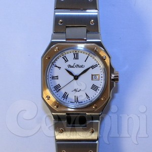 PAUL PICOT MEDITERRANEE No.2 GOLD AND STAINLESS STEEL 30mm 8100SRG-110