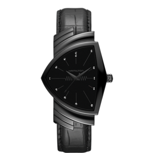 HAMILTON VENTURA QUARTZ TOTAL BLACK H24401731