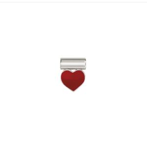 NOMINATION CIONDOLO SEIMIA CON CUORE ROSSO Pendente in Argento 925 con Simbolo d'amore 147118 003