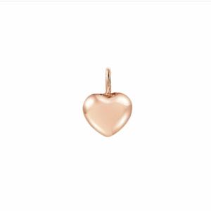 NOMINATION CHARM CUORE IN ORO ROSA Charm Charming con simbolo bombato 148520 009