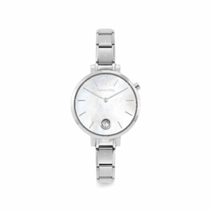NOMINATION OROLOGIO COMPOSABLE MADREPERLA BIANCA COLLECTION TIME 076033/008