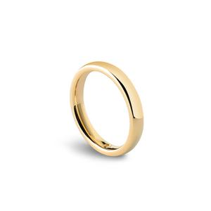 DAMIANI NOI2 FEDE NUZIALE 3.50mm Oro Giallo Misura 11 con diamante interno 0.005 H 20035704