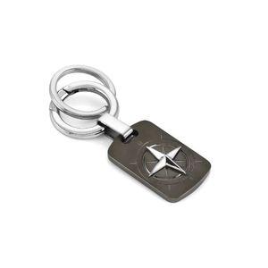 NOMINATION PORTACHIAVI ROSA DEI VENTI COLLECTION KEYRINGS Portachiavi in acciaio con simbolo 131705 014