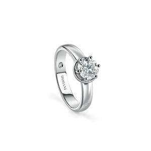 DAMIANI MINOU Anello di fidanzamento solitario in oro bianco diamante 0,26 carati, colore H, purezza VS 20073295