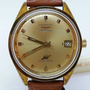 LONGINES 431 ULTRACHRON Automatic Placcato Oro Cassa 38/39mm