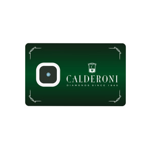 CALDERONI  DIAMANTE taglio brillante 1,01 H VVS  GIA 51000927