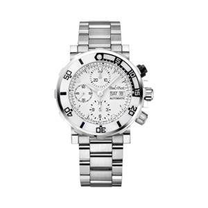PAUL PICOT YACHTMAN III Automatic Chronograph White Dial Sapphire Bezel 1127ZB/C