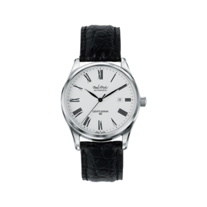 PAUL PICOT GENTLEMAN DATE 40 mm Automatic White Dial N4104/C