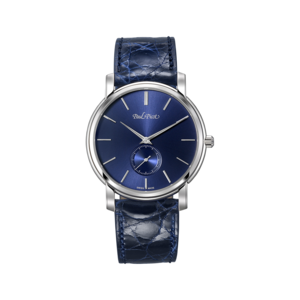 PAUL PICOT FIRSHIRE EXTRAFLAT Manual 40mm Blue Dial 3710.SG