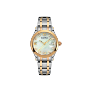 PAUL PICOT SAINT-TROPEZ 31 mm Steel and Pink Gold 2693SRL-N1D4