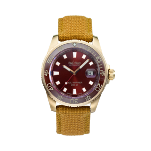 PAUL PICOT PAUL MARINER BRONZE Automatic 42mm Red Ceramic Bezel Red Dial P4352.BZ.CBR/CORD