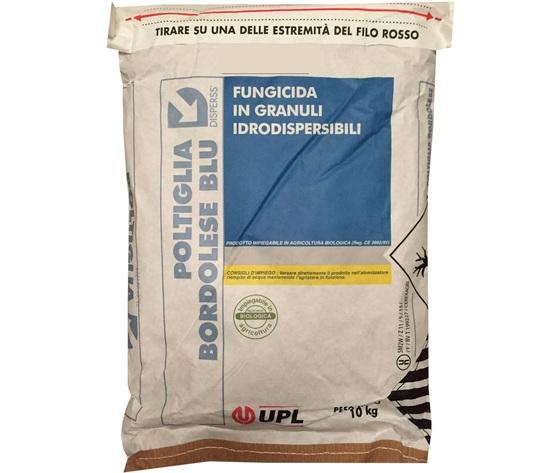 Upl poltiglia bordolese 20 disperss blu in granuli fungicida kg 10