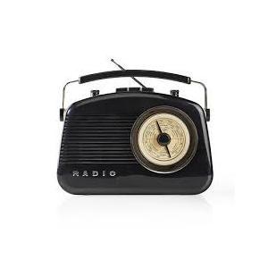 Radio Vintage Nedis RDFM5010BK