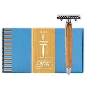 Rasoio testina gentile wood ulivo 42131