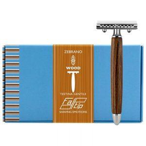 Rasoio Zebrano Fatip Wood 42133
