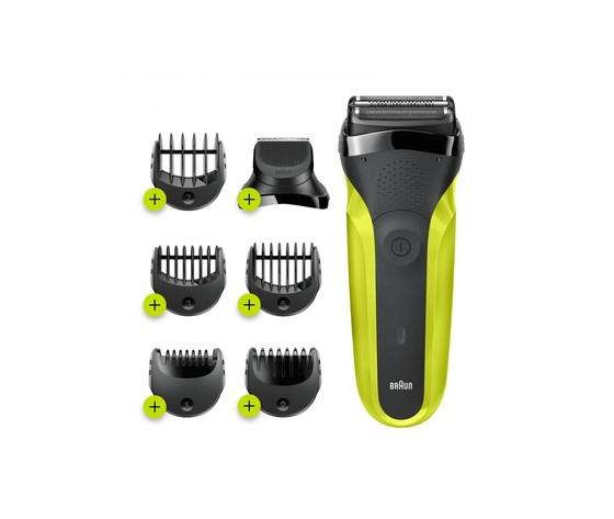 Braun series 3 shavestyle 300bt rasoio da barba elettrico da uomo