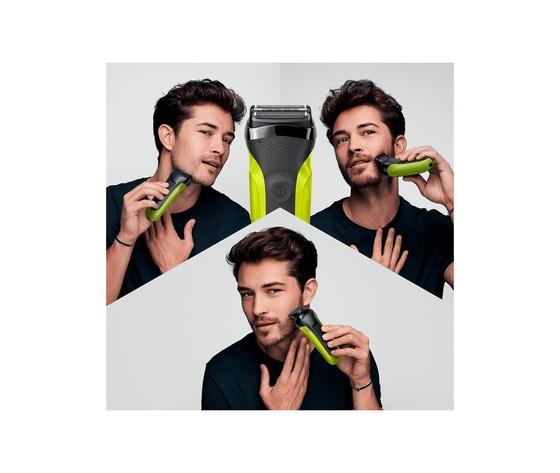 Braun series 3 shavestyle 300bt rasoio da barba elettrico da uomo %282%29