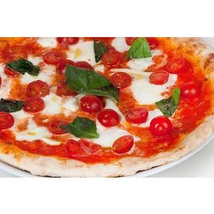Pizza Bufala Pomodorini e Basilico