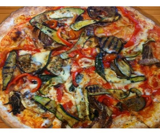 E 9 pizza ortolana