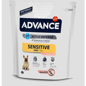 Advance Cibo Secco Mini Sensitive di Salmone e Riso