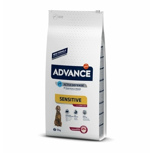 ADVANCE DOG SENSITIVE MEDIUM/MAXI AGNELLO/RISO
