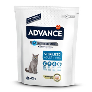 Advance Cat Adult Sterilized Tacchino