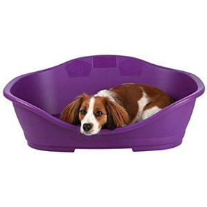 Sleeper 5 Rosso -Lettino per cani in plastica