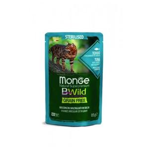 MONGE-BWILD GATTO STERILIZZATO TONNO