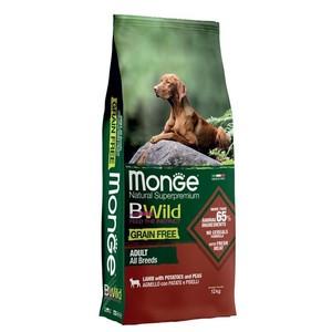 Monge - B-Wild Grain Free Agnello Patate e Piselli