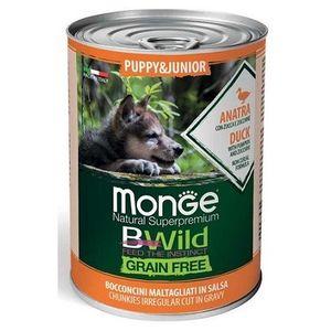 Monge Natural Superpremium BWild Puppy&Junior Anatra