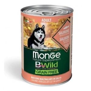 Monge Natural Superpremium BWild Adult Salmone
