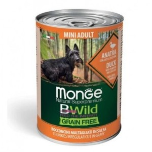 Monge Natural Superpremium BWild Mini Adult Anatra