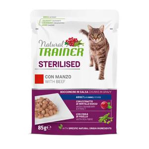 TRAINER - Natural Sterilised Bocconcini con Manzo