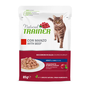 TRAINER - Natural Adult Bocconcini con Manzo