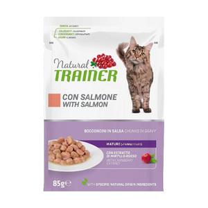 TRAINER - Natural Mature 7+ Bocconcini con Salmone