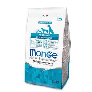 Monge - All Breeds Cane Hypoallergenic Salmone e Tonno