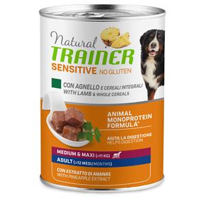 TRAINER - Natural Sensitive Medium/Maxi Adult umido Agnello