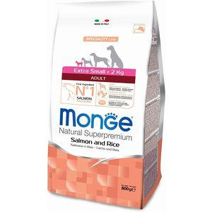 Monge Extra Small Adult Salmone e Riso