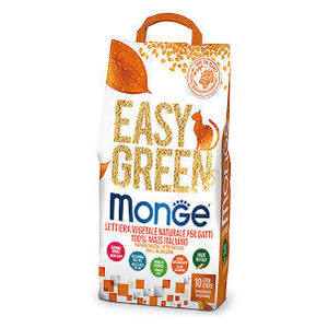 MONGE - Lettiera Easy Green 100% Mais Italiano
