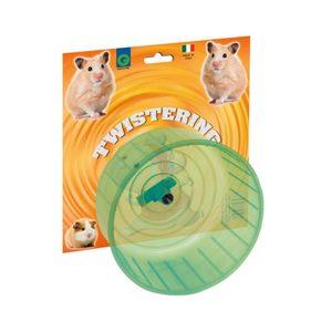Twistering ruota per criceti in plastica
