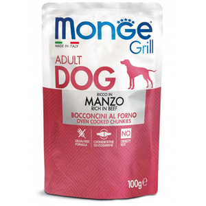 Grill Adult Dog Bocconcini Manzo