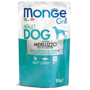 Grill Adult Dog Bocconcini Merluzzo