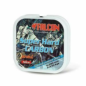 Falcon Fluorocarbon Super Hard Carbon Nylon Persicus S 50 mt - 0.448 / 15,80 kg