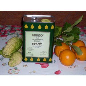 Olio Extra vergine di oliva Aureo - Lattina da 3 lt