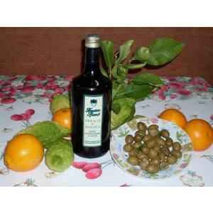 Olio Extra vergine di oliva Fresco di macina - Bottiglia da1 l