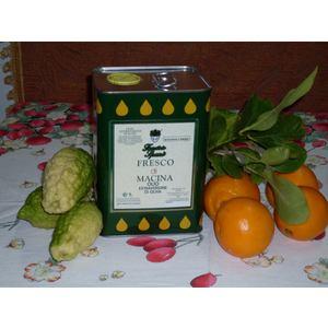 Olio Extra vergine di oliva Fresco di macina - Lattina da 3 l