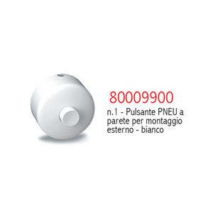 9900 PULSANTE PNEUMATICO ESTERNO A PARETE BIANCO PUCCI